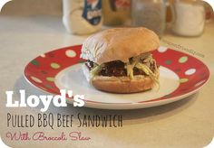 I had fun making this super cheap, but delicious bbq sandwich. Try it out, and be sure to snag a $1.00 off Lloyd's bbq shredded beef printable coupon!