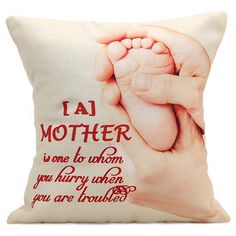 Photo cushion for Mother's day