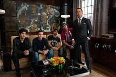 Kevin Dillon, Adrian Grenier, Jeremy Piven, Kevin Connolly, and Jaime Ferrar in Entourage Hbo Series, Drama Series, Adrian Grenier, Entourage Movie, Jeremy Piven, Entertainment Center Makeover, 2015 Movies, Friendship, Movies