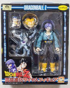 Dragon Ball Z Trunks Ultimate Evolution Saiyan Figure 2 Banpresto JAPAN ANIME