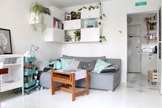 """2w1 - salon i sypialnia """"Po"""" - zdjęcie od Enjoy Your Home - Salon - Styl Eklektyczny - Enjoy Your Home"""