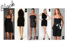 Not your typical #Bridesmaids Dresses: Black