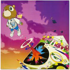 Album cover by Takashi Murakama for Kanye West