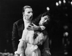 Sarah Brightman and Michael Crawford in the original Broadway production of The Phantom of the Opera, which is the longest running show on Broadway. The most romantic show I have ever seen. Broadway Theatre, Musical Theatre, Broadway Shows, Broadway Plays, Teatro Musical, Opera Ghost, Much Music, Music Stuff, Sarah Brightman