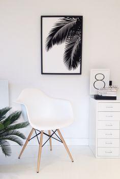 New Palm art print available for pre order at susan@soo-uk.com SOOuK #palm #artprint
