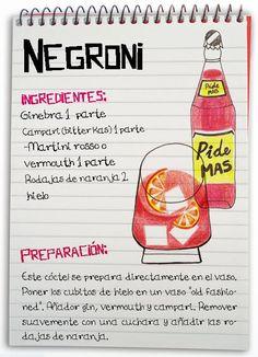 Negroni: cóctel con ginebra