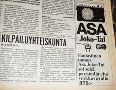 Totally Vintage!: Kameramainos: Yashica. Ratiomainos: Asa