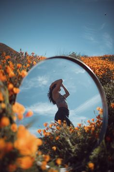 California poppies, california, mirror and butterfly HD photo by Jeremy Bishop ( on Unsplash Mirror Photography, Creative Portrait Photography, Portrait Photography Poses, Photography Poses Women, Creative Photography Poses, Photography Tricks, Water Photography, Outdoor Photography, Creative Photoshoot Ideas