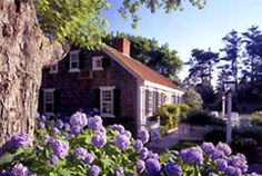 Captain's House Inn in Chatham, Cape Cod is a lovely collection of buildings, each offering beautifully decorated rooms in New England's beachside playground.  www.Captainshouseinn.com.