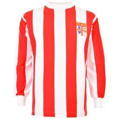 Show details for Stoke City 1972 League Cup Retro Football Shirt