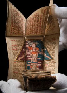 The Wellcome Library has acquired a 15th century manuscript with fold-out illustrations relating to astrology and medicine. Previously unknown to scholars, it turns out to have been owned by eccentric English poet Edith Sitwell.