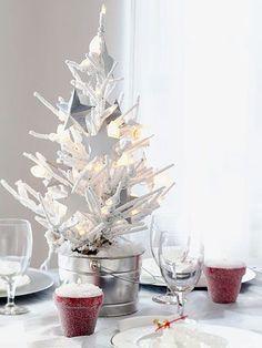 mini christmas tree decoration - Buscar con Google