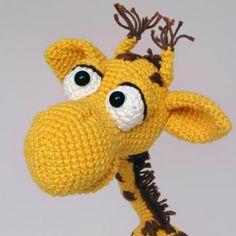 Geoffrey the giraffe amigurumi crochet pattern for sale by IlDikko Crochet Cow, Giraffe Crochet, Giraffe Pattern, Crochet Unicorn, Crochet Animals, Crochet Dolls, Free Crochet, Amigurumi Patterns, Crochet Patterns