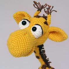 Geoffrey the giraffe amigurumi pattern by IlDikko  This is the most adorable giraffe I have seen yet!!   <3