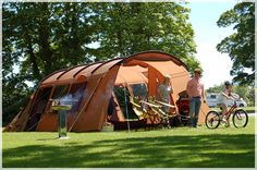 Thermo Tent is the world's very first properly (thermally & acoustically) insulated tent.