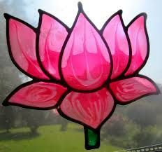 lotus flower stained glass - Google Search