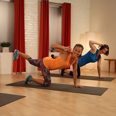 10 Minutes to a Tighter Core . . . No Crunches Required. Just did it and I love this!! Try it!