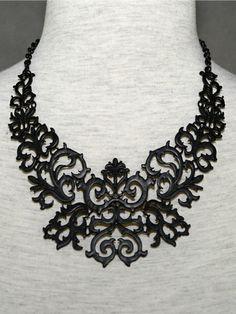 The Black Totem Necklace