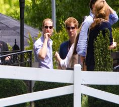 Prince William and Prince Harry attend Elvis' home Graceland in Memphis as part of Guy Pelly's wedding weekend, 02.05.2014