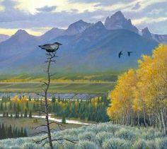 Monte Dolack Teton Autumn