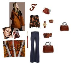 """""""F...like Autumn FALL!"""" by chryssalice ❤ liked on Polyvore featuring Frye, The Row, Alexander McQueen and Nixon"""