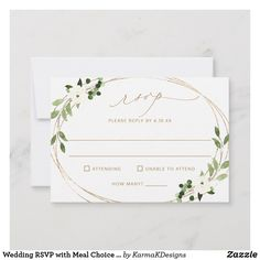 Shop Wedding RSVP with Meal Choice & Favorite Song Back created by KarmaKDesigns. Personalize it with photos & text or purchase as is! Disney Invitations, Sweet 16 Invitations, Engagement Party Invitations, Beautiful Wedding Invitations, Save The Date Invitations, Zazzle Invitations, Bridal Shower Invitations, Birthday Invitations, Graduation Invitations