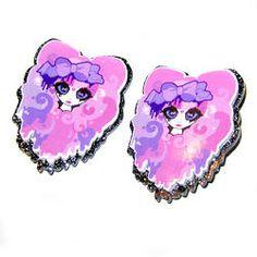 Roxie Girl Hairslides - Black Glitter #roxiesweetheart