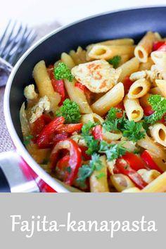 Mat, Fajitas, Pasta Salad, Salads, Food And Drink, Ethnic Recipes, Red Peppers, Crab Pasta Salad, Salad