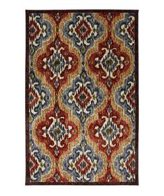 This charming and colorful rug adds depth to décor in an instant. Its elegant design makes it an easy addition to any interior.