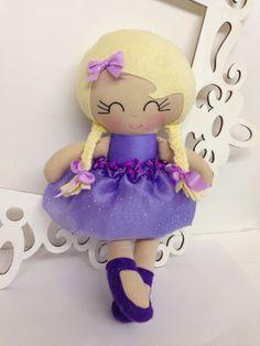 Handmade Dolls Soft Doll Cloth Handmade Dolls by SewManyPretties, $46.00 #ballerina #firstbirthday #girlbirthday