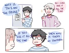 bonus: victor u have no idea how long ur husband's been waiting for that toothpaste (ty for the prompt!! @mldlysrprsng)