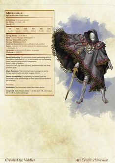 Here is even more D&D 5e homebrew. Have fun! - Imgur