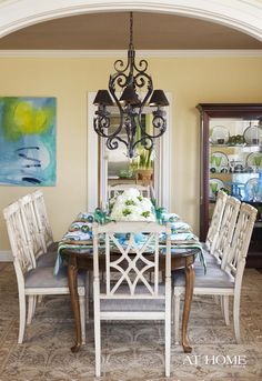 Design by Tobi Fairley, Photographed by Rett Peek for @At Home in Arkansas Magazine http://www.athomearkansas.com