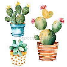 Картинки по запросу кактус рисунок