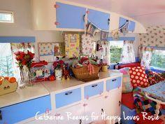 pretty vintage caravan HAPPY LOVES ROSIE: Catherine Reeves Vintage Caravan - LUCY