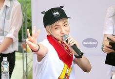 #b1a4 #baro #120707 #hats on #fansign #cr:chabaro.com  / Tumblr
