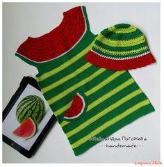Сочное платье для дочи - Вязание - Страна Мам