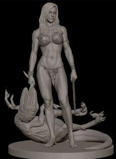 ArtStation - Shanna the She-Devil, Will Harbottle