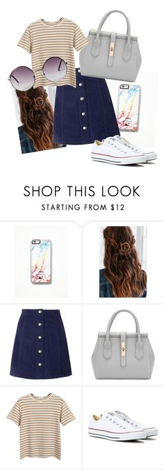 """""""Untitled #2"""" by chloxoxoxx on Polyvore featuring Free People, Topshop, Chicnova Fashion, Converse, Monki, women's clothing, women, female, woman and misses"""