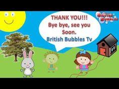 04d90da54 Aprender las formas en inglés para niños con British Bubbles Tv los mejores  vídeos y canciones