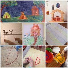 WillywamWhimsy Homeschooling Blog: April 2015: Grade One Language Block (Letter B, Letter D, Letter P), and Easter Celebration