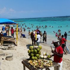 Hellshire Beach Portmore Jamaica Is Located Near And Famed For Its Fried Fish Lobster Safe Swimming It Has White Sands With A Very