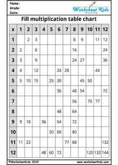 Times table grid up to 100 for grade blank times table grid printable for class multiplication table chart for grade mixed times table grid. Multiplication Table For Kids, Free Printable Multiplication Worksheets, 4th Grade Math Worksheets, Teaching Multiplication, Multiplication Strategies, Math Math, Math Games, Maths Times Tables, Times Tables Worksheets