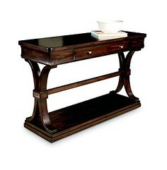 Product: Lane® Churchill Walnut Console Table