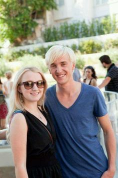 Tom and Evanna. OH MY GOD WJWJSKBDKEBDKEBFKDNR