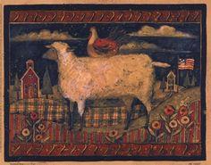Google Afbeeldingen resultaat voor http://www.bandagedear.com/image/view/farmhouse-sheep-by-susan-winget