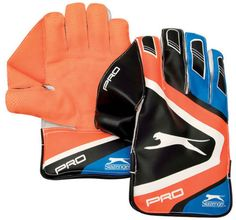 Slazenger Pro Cricket Wicket Keeping Gloves  Free Inners  Free Shipping Free Shipping