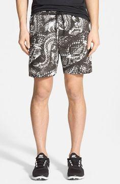 Men's Insight Python Print Hybrid Shorts
