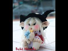 Como fazer Boneca de Pano : Lindo Duende - Parte 1 - Bebe Mimado - YouTube