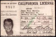 vintage everyday: These 16 Vintage Drivers' Licenses of Celebrities Are Really…